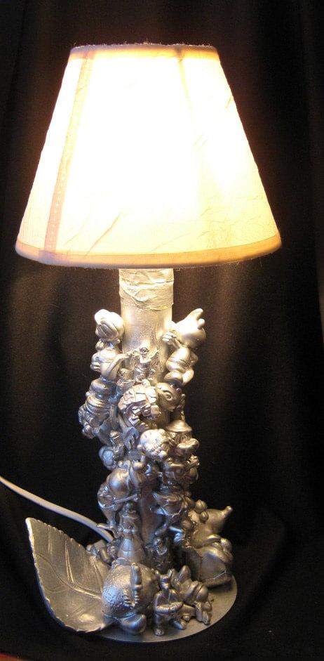 Настольные лампы оформить своими руками