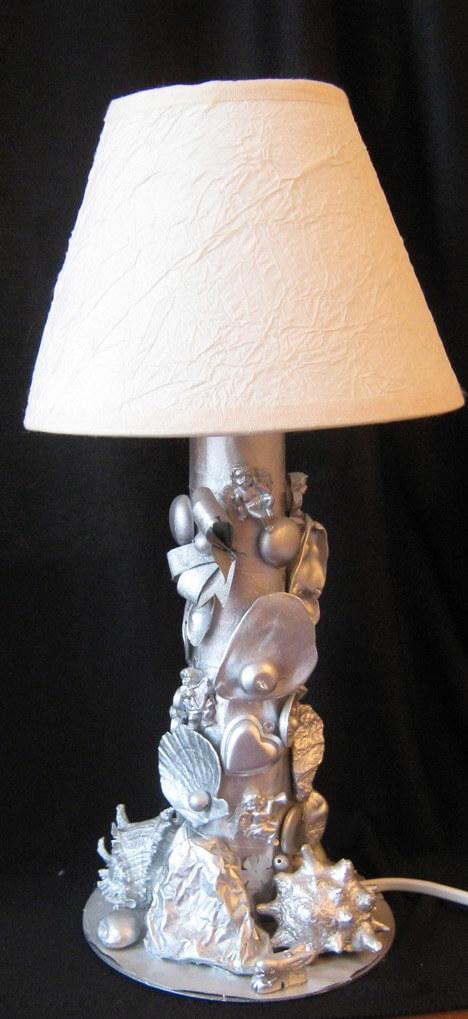 Фото настольные лампы своими руками