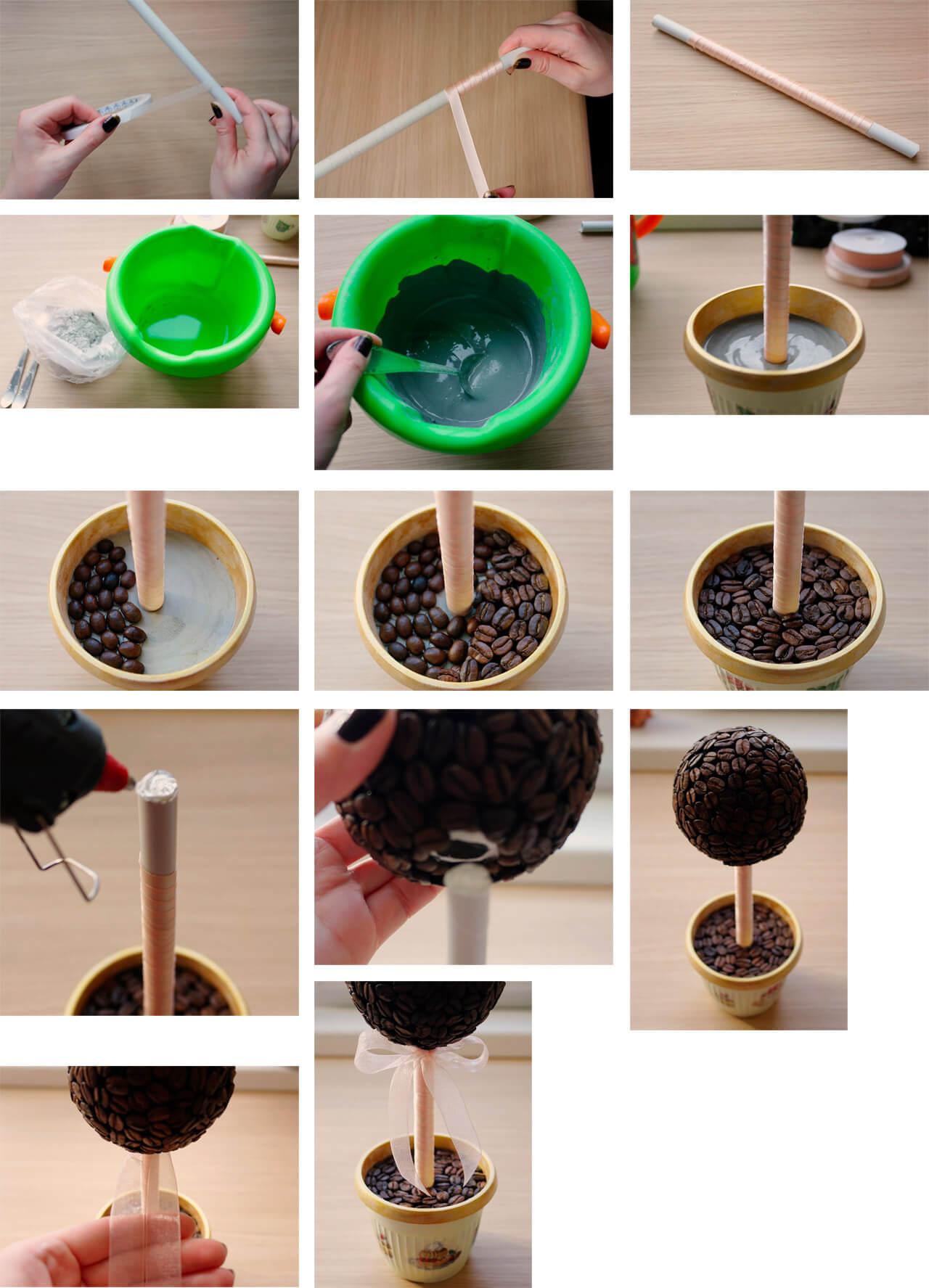 Как сделать кофейное дерево фото фото 307