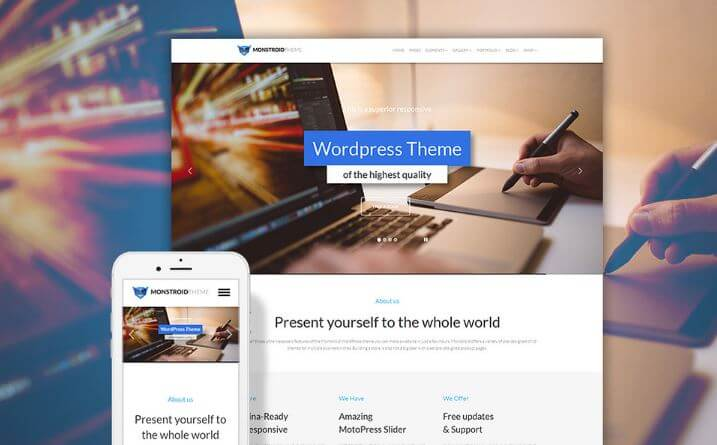 Крутая тема WordPress